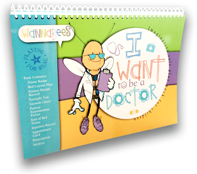Imaginative and Educational Role Play Packs for Children aged 5-11 year just £14.99 - I Want to be a Doctor